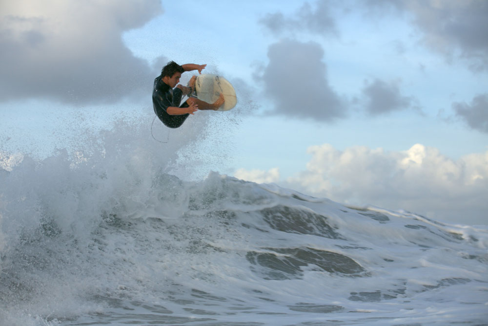 Surfing, Getting Air from a Wave