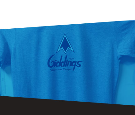 T-Shirt with Giddings Logo