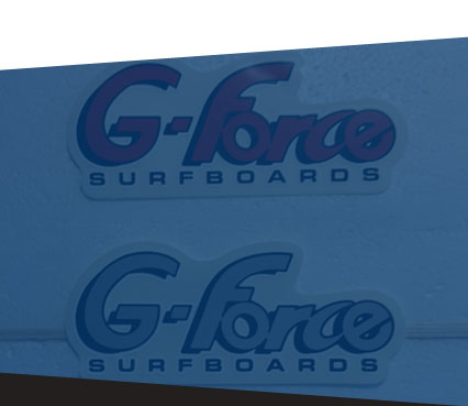 G-Force Surfboards, Logo