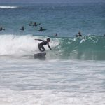 Many People Surfing