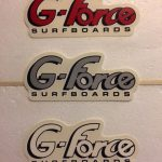Red, Grey and White G-Force Logos